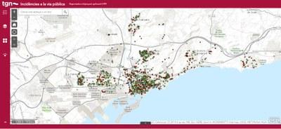 L'Ajuntament de Tarragona posa en marxa un geoportal