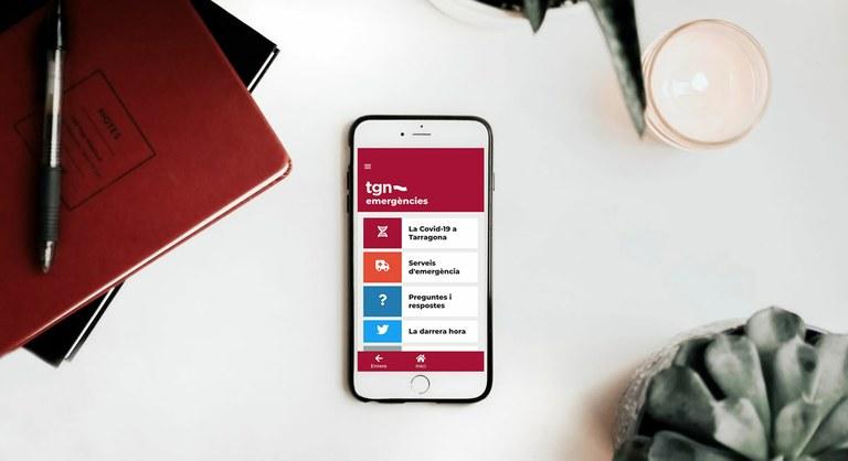 L'APP Tgn Emergències compta amb 2.000 usuaris actius