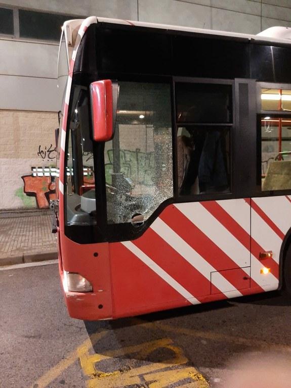 L'EMT denuncia els actes vandàlics patits als autobusos municipals durant l'any 2020