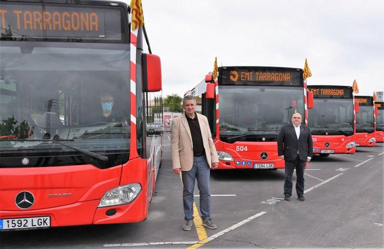 L'EMT renova la seva flota amb vuit autobusos nous