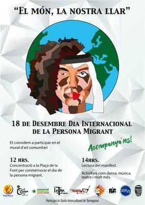 Tarragona commemora el Dia Internacional de la Persona Migrant