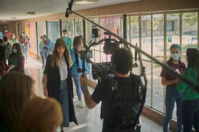 Tarragona, escenari del rodatge de 'Todos mienten', la nova sèrie original de Movistar+ creada per Pau Freixes
