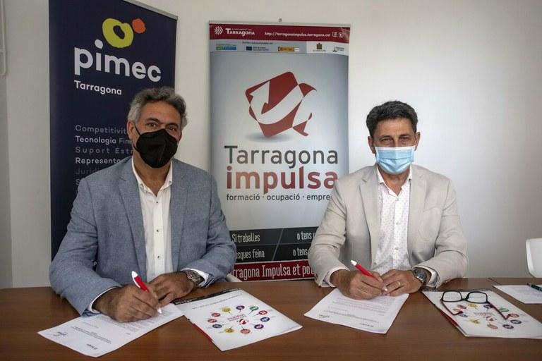 L'Ajuntament de Tarragona i PIMEC s'alien per fomentar l'emprenedoria a la ciutat