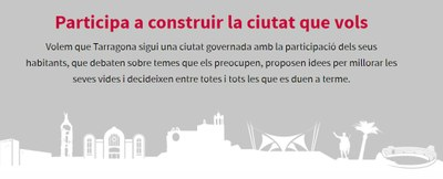 L'Ajuntament de Tarragona posa en marxa els pressupostos participatius amb una inversió de 500.000 €