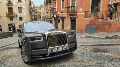 Rolls Royce tria Tarragona com a escenari de la campanya internacional a xarxes socials del nou Phantom