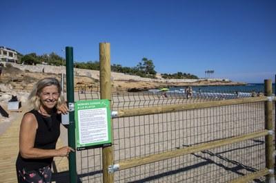Tarragona obre la zona de platja habilitada per a gossos