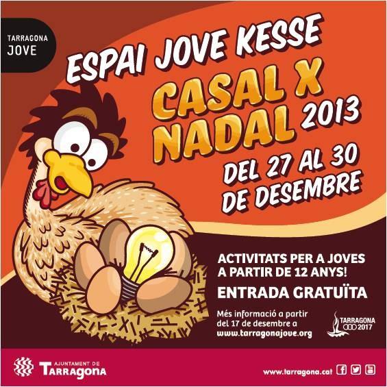 L'Espai Jove Kesse presenta el Casal x Nadal 2013