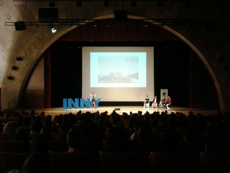 El Palau de Congressos va acollir ahir l'acte Inny. L'emprenedoria des d'un altre punt de vista