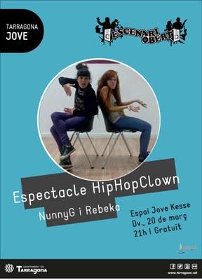 Aquest divendres Hip Hop Clown, un espectacle que barreja dansa i clown dins l'Escenari Obert de l'Espai Jove Kesse
