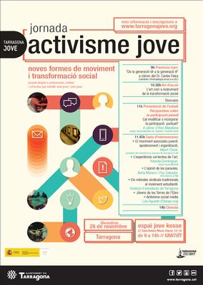 Jornada sobre activisme jove, nous formats de moviment i transformació social