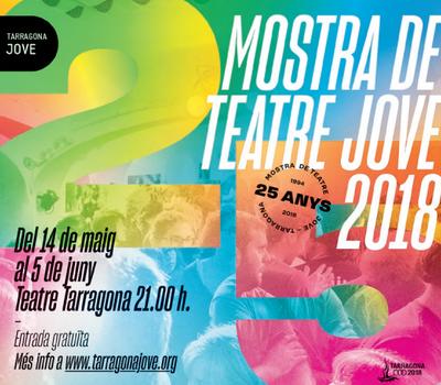 Els grups de teatre juvenil de Tarragona promocionen la Mostra de Teatre Jove