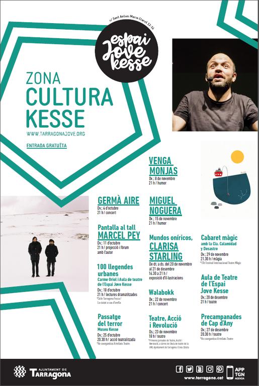 El cicle Cultura Kesse de tardor arrenca divendres amb un concert de Germà Aire