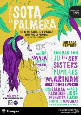 Ju i María José Llergo, protagonistes del primer cap de setmana al Festival Sota la Palmera