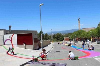 «Spam!» impacta al barri de Sant Pere i Sant Pau