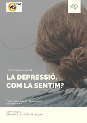 Tornavís Teatre celebra deu anys  reflexionant sobre la depressió a l'Espai Jove Kesse