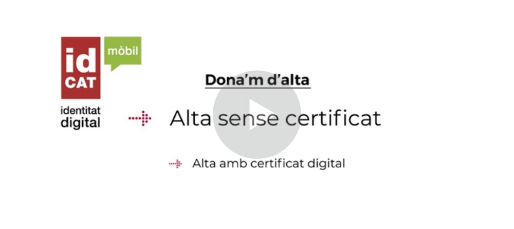 Com puc aconseguir una identificació digital per fer tràmits en línia?