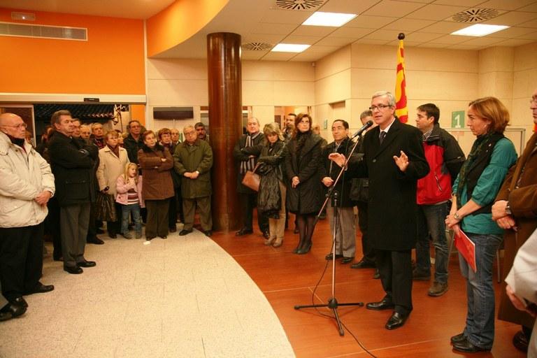 L'alcalde ha inaugurat la nova seu de l'Oficina Municipal d'Atenció Ciutadana a Torreforta