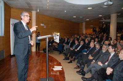 Josep Fèlix Ballesteros:'El Corredor i els Jocs 2017 garanteixen el futur de Tarragona'