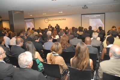 L'alcalde destaca la importància dels Jocs del 2017 com l'oportunitat de lideratge econòmic i social de la Mediterrània
