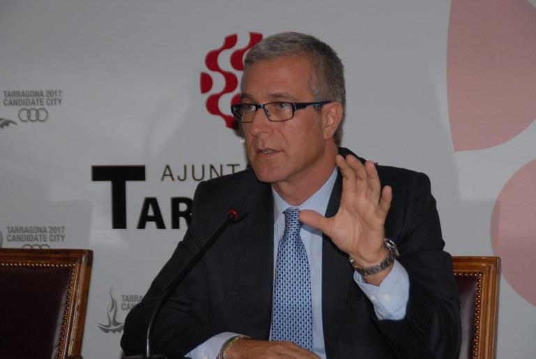 Els projectes Smart City i Jocs Mediterranis centraran una conferència de l'alcalde a Madrid