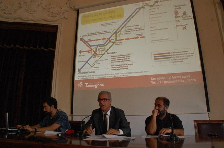 L'Ajuntament de Tarragona presenta un recurs contra el projecte de licitació del tercer carril