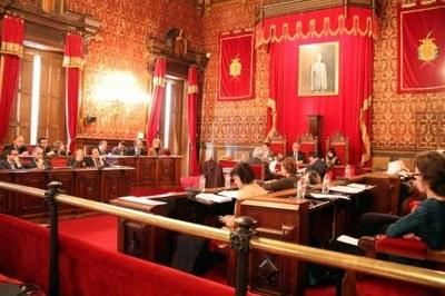 El Ple aprova la moció de suport a la convocatòria de consulta del 9 de novembre