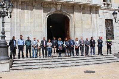 L'Ajuntament de Tarragona guarda un minut de silenci per la mort d'Isabel Carrasco