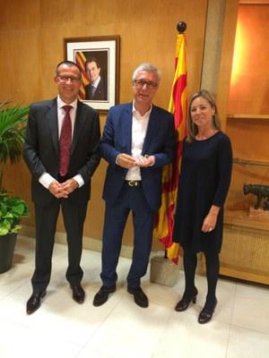 Mútua General de Catalunya presenta el seu projecte solidari a l'Alcalde de Tarragona