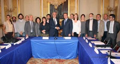 Tarragona i Reus van constituir ahir la primera comissió bilateral
