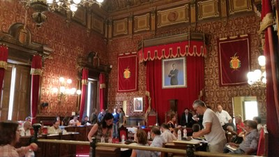 L'alcalde convoca el proper ple, extraordinari, per debatre sobre els Jocs Mediterranis
