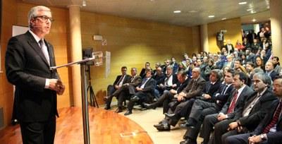 Avui a les 19 h, conferència de l'alcalde Josep Fèlix Ballesteros