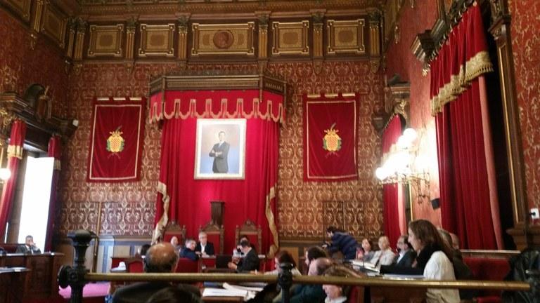El Consell Plenari es reunirà divendres 19 de febrer