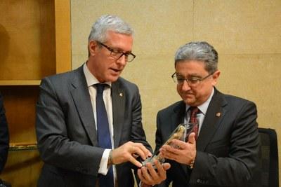 El delegat del Govern a Catalunya, Enric Millo, afirma que els Jocs Mediterranis 2018 són un compromís del Govern d'Espanya
