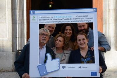 """L'Ajuntament de Tarragona rep el reconeixement d'Intermón Oxfam a la iniciativa """"Zones lliures de paradisos fiscals"""""""