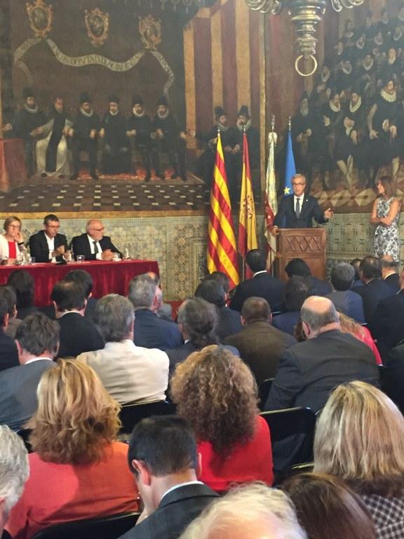L'Alcalde de Tarragona referma la unitat d'acció entre Catalunya i València per reclamar que el Corredor del Mediterrani sigui una realitat