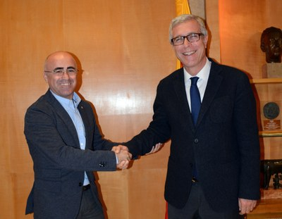 L'alcalde de Tarragona rep el nou delegat del Govern de la Generalitat