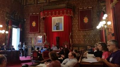 Mocions aprovades al plenari del 24 d'octubre