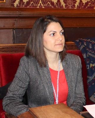Presa de possessió de la nova consellera de l'Ajuntament