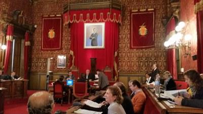 Mocions aprovades al plenari d'avui, 17 de febrer