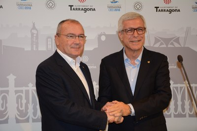 Compromís ferm de Tarragona i Reus per forçar que la Generalitat i l'Estat executin les infraestructures del territori