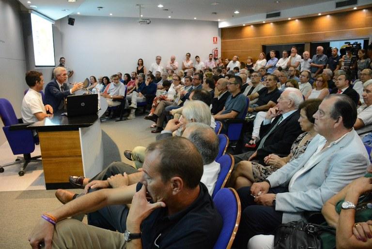 """Josep Fèlix Ballesteros: """"Els Jocs deixen un llegat assumible amb un esforç ja amortitzat"""""""