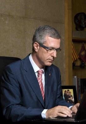 """L'alcalde de Tarragona, Josep Fèlix Ballesteros, pronunciarà avui, 22 de novembre, la conferència """"La Tarragona social, verda i innovadora"""""""