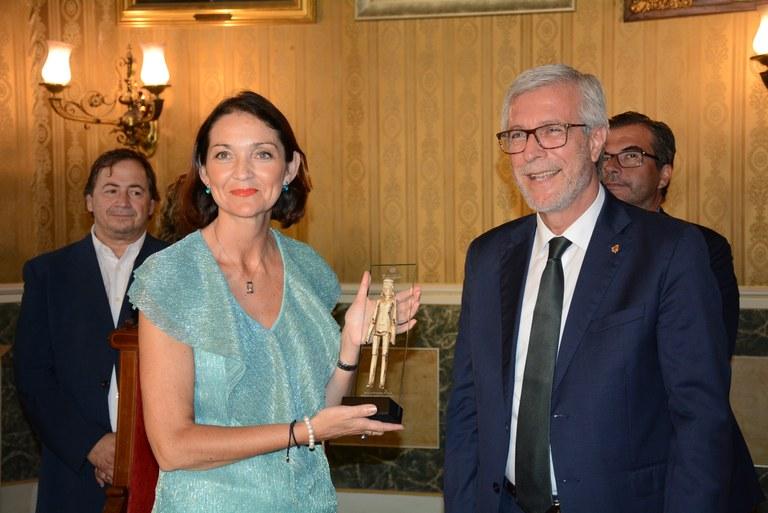 Visita institucional de la ministra d'Indústria, Comerç i Turisme, Reyes Maroto, a l'Ajuntament de Tarragona