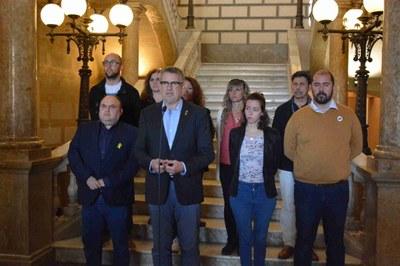 Declaració institucional de l'equip de govern de l'Ajuntament de Tarragona
