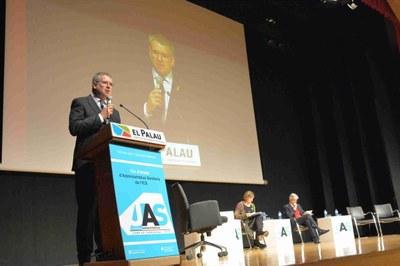 L'alcalde Ricomà defensa la tasca dels administratius de la sanitat pública en la inauguració de la jornada sanitària organitzada per l'Institut Català de la Salut
