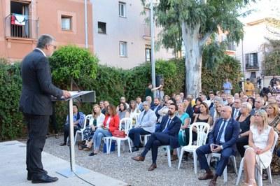 L'alcalde Ricomà participa a l'acte central de celebració de la Diada Nacional de Catalunya al Camp de Tarragona