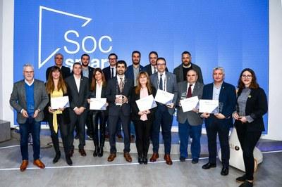 La Generalitat premia l'aposta de l'Ajuntament de Tarragona per la tecnologia amb el segell Soc Smart