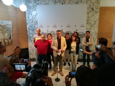 """L'alcalde Ricomà: """"L'origen de l'actual situació és una sentència que retalla drets i llibertats"""""""