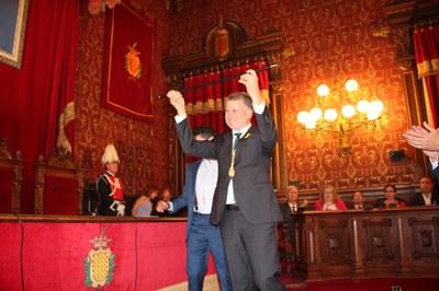 Pau Ricomà és el nou alcalde de Tarragona