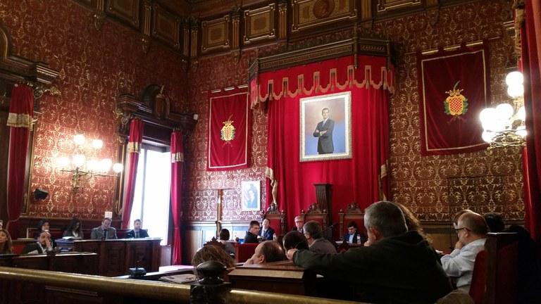 El Consell Plenari es reuneix avui dilluns, 18 de març